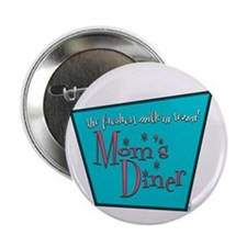 """Mom's Diner Breast Milk 2.25"""" Button (100 pack)"""