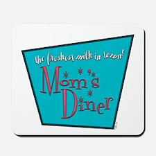 Mom's Diner Breast Milk Mousepad