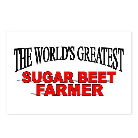 """The World's Greatest Sugar Beet Farmer"" Postcards"