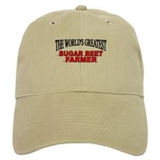 """The World's Greatest Sugar Beet Farmer"" Baseball Cap"