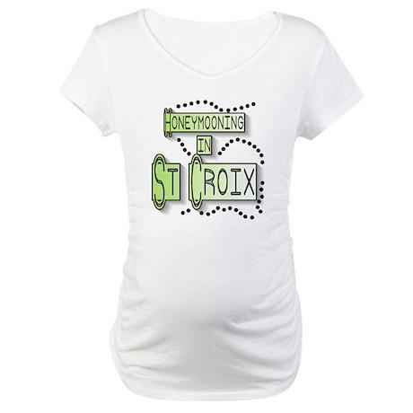 Honeymoon St. Croix Maternity T-Shirt