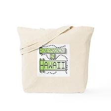 Green Honeymoon Hawaii Tote Bag