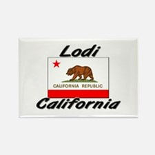 Lodi California Rectangle Magnet