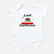 Lodi California Infant Bodysuit