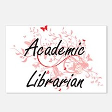 Academic Librarian Artist Postcards (Package of 8)