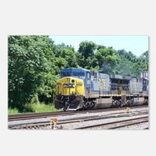 CSX Q190 Doublestack Train Postcards (Package of 8