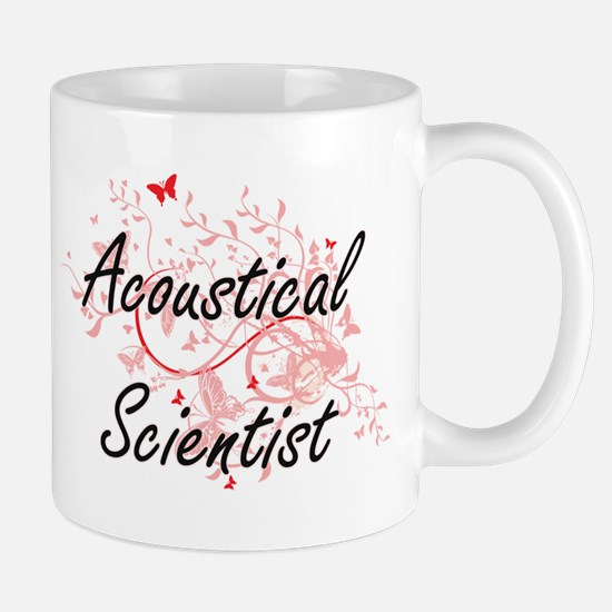 Acoustical Scientist Artistic Job Design with Mugs