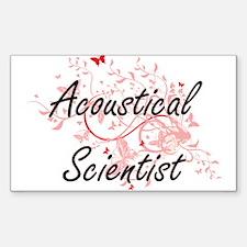 Acoustical Scientist Artistic Job Design w Decal