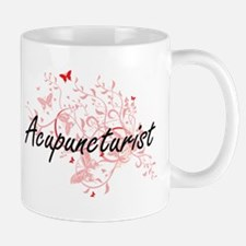 Acupuncturist Artistic Job Design with Butter Mugs