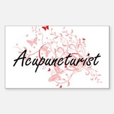 Acupuncturist Artistic Job Design with But Decal