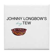 Johnny Longbow's Stew Tile Coaster