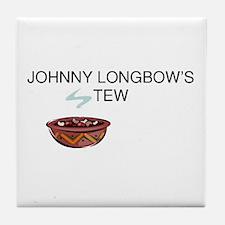 Johnny Longbow's Stew Tile Coaster