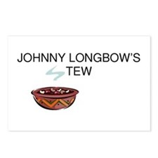 Johnny Longbow's Stew Postcards (Package of 8)