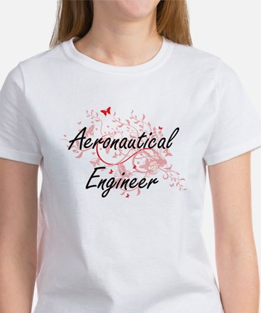 Aeronautical Engineer Artistic Job Design T-Shirt