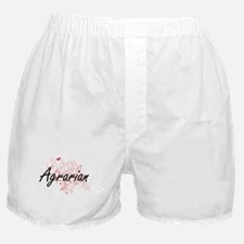 Agrarian Artistic Job Design with But Boxer Shorts
