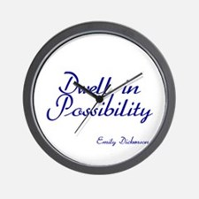 Dwell in Possibility Wall Clock