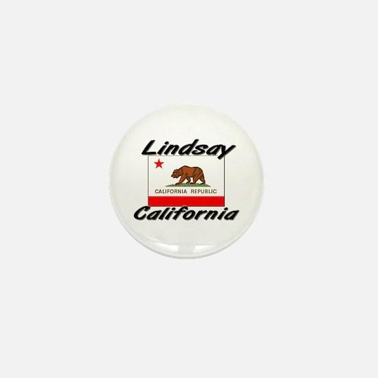 Lindsay California Mini Button