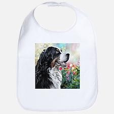 Bernese Mountain Dog Painting Bib