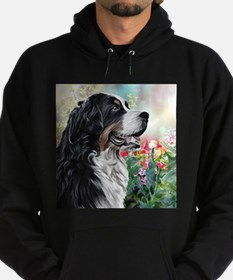 Bernese Mountain Dog Painting Hoodie