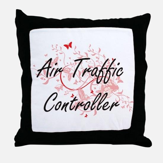 Air Traffic Controller Artistic Job D Throw Pillow