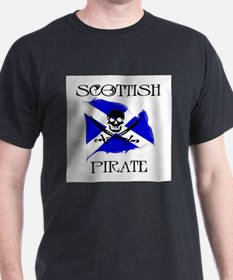 Scottish Pirate Ash Grey T-Shirt