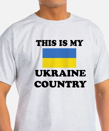 This Is My Ukraine Country T-Shirt