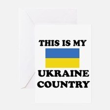 This Is My Ukraine Country Greeting Card