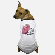 Only Lefties Right Minds Dog T-Shirt