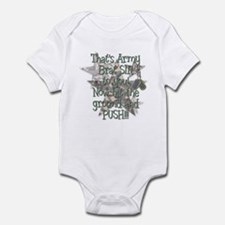 Army Brat Sir Infant Bodysuit