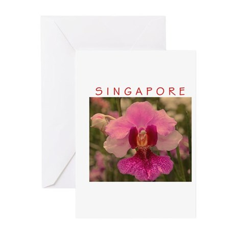 Singapore Orchid Greeting Cards (Pk of 20)