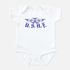 USAF Scroll Infant Bodysuit