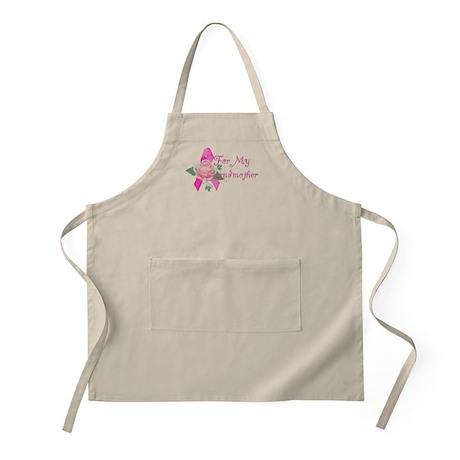 Breast Cancer Support Grandma BBQ Apron