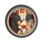Antique Cow Wall Clock