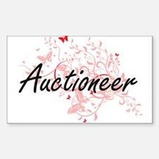 Auctioneer Artistic Job Design with Butter Decal
