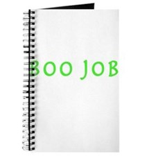 BOO JOB GREEN Journal