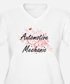 Automotive Mechanic Artistic Job Plus Size T-Shirt