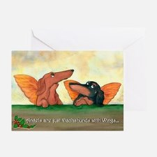 Dachshund Angels Christmas Cards (20)