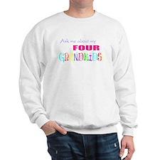 Four Grandkids Sweatshirt
