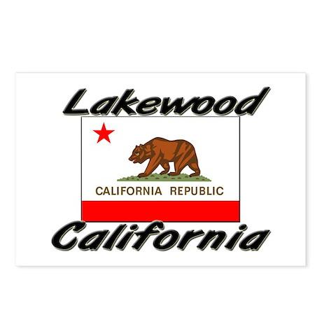 Lakewood California Postcards (Package of 8)