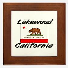 Lakewood California Framed Tile
