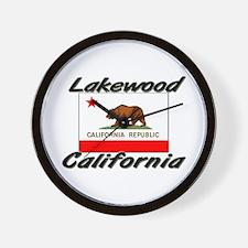 Lakewood California Wall Clock