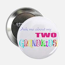 Two Grandkids Button