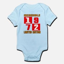 Incredible 1972 Limited Edition Infant Bodysuit