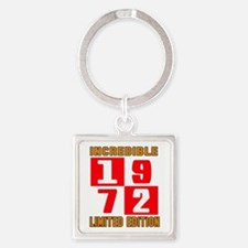 Incredible 1972 Limited Edition Square Keychain