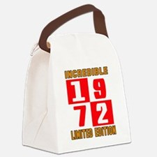 Incredible 1972 Limited Edition Canvas Lunch Bag