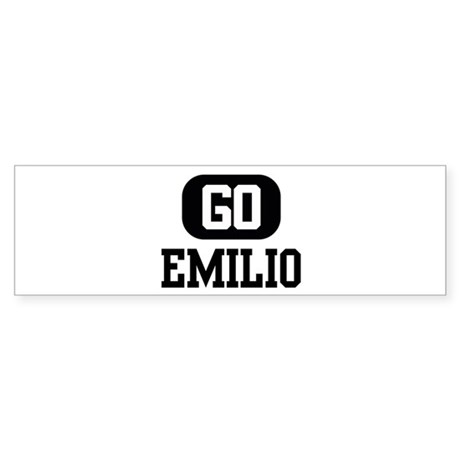 Go EMILIO Bumper Sticker