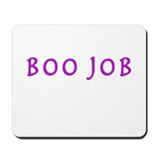 BOO JOB PURPLE Mousepad
