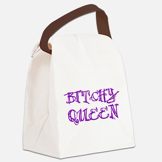 Bitchy Queen Canvas Lunch Bag