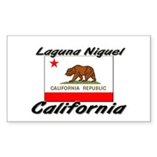 Laguna Niguel California Rectangle Decal