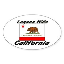 Laguna Hills California Oval Decal